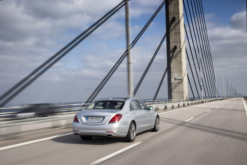 DRIVEN: W222 Mercedes-Benz S 500 Plug-in Hybrid Image #313223