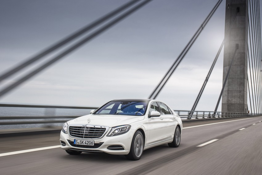 DRIVEN: W222 Mercedes-Benz S 500 Plug-in Hybrid Image #313229