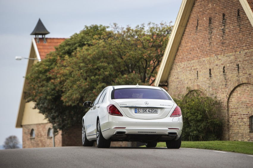 DRIVEN: W222 Mercedes-Benz S 500 Plug-in Hybrid Image #313233