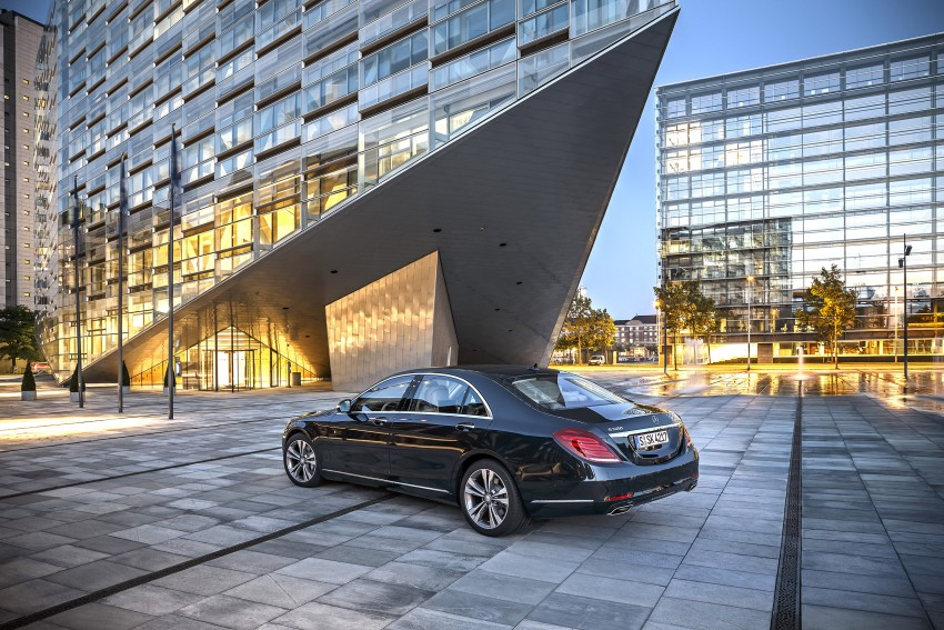 DRIVEN: W222 Mercedes-Benz S 500 Plug-in Hybrid Image #313242