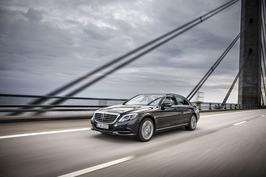 DRIVEN: W222 Mercedes-Benz S 500 Plug-in Hybrid Image #313245