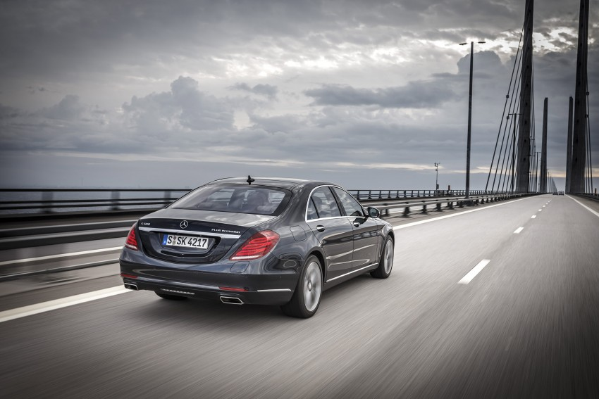 DRIVEN: W222 Mercedes-Benz S 500 Plug-in Hybrid Image #313248