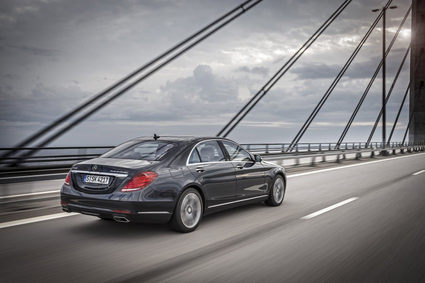 DRIVEN: W222 Mercedes-Benz S 500 Plug-in Hybrid Image #313249