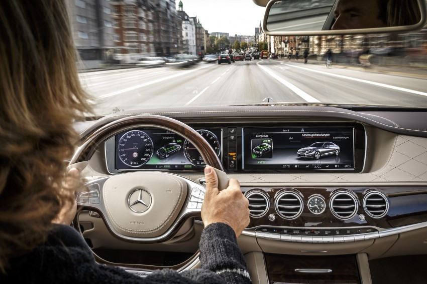 DRIVEN: W222 Mercedes-Benz S 500 Plug-in Hybrid Image #313252