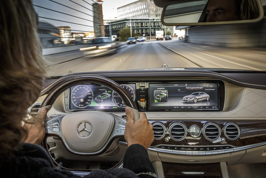 DRIVEN: W222 Mercedes-Benz S 500 Plug-in Hybrid Image #313253