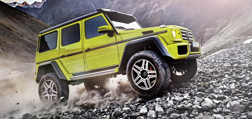 Mercedes-Benz G500 4×4² debuts – 'near-production' Image #312980