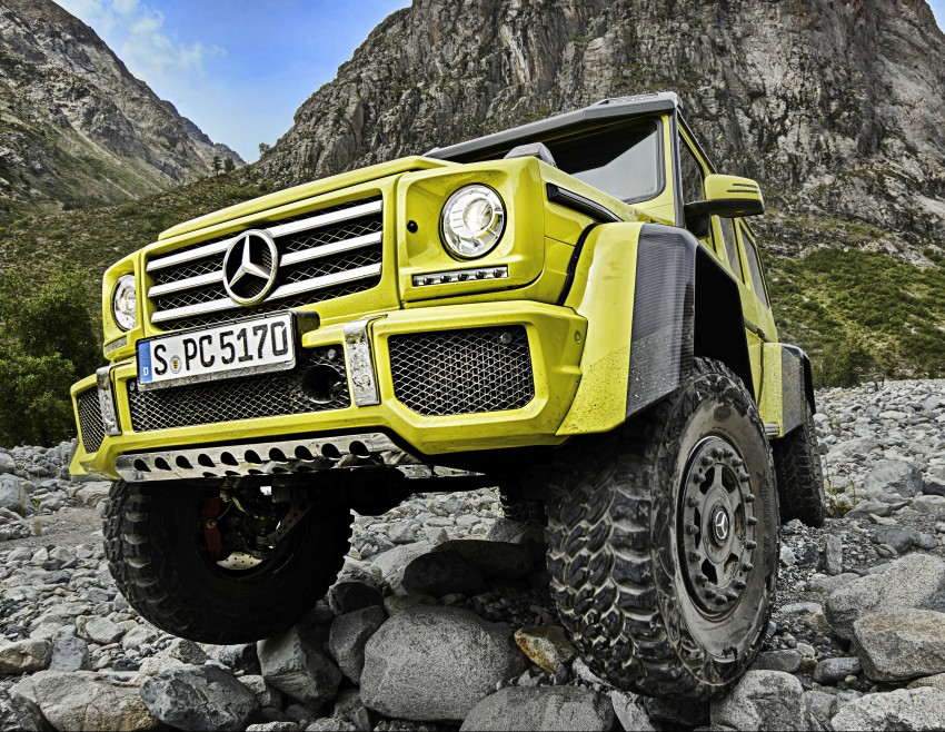 Mercedes-Benz G500 4×4² debuts – 'near-production' Image #312981