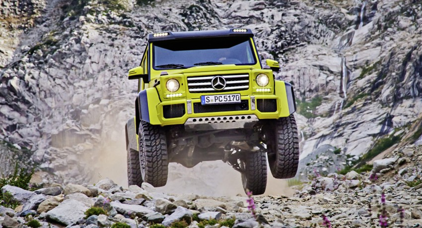 Mercedes-Benz G500 4×4² debuts – 'near-production' Image #312982