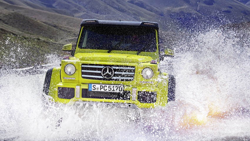 Mercedes-Benz G500 4×4² debuts – 'near-production' Image #312983