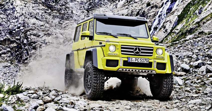 Mercedes-Benz G500 4×4² debuts – 'near-production' Image #312984