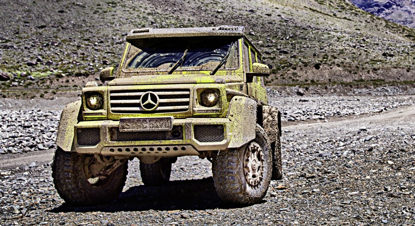 Mercedes-Benz G500 4×4² debuts – 'near-production' Image #312985