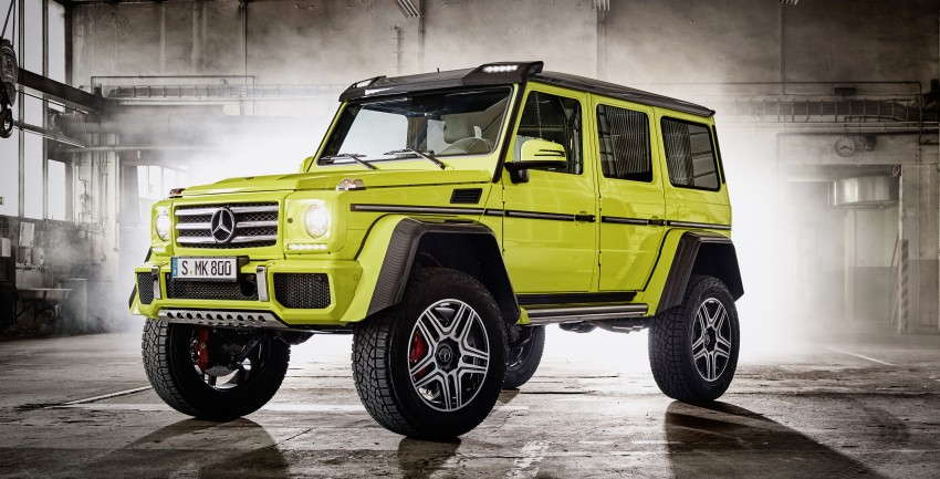 Mercedes-Benz G500 4×4² debuts – 'near-production' Image #312988