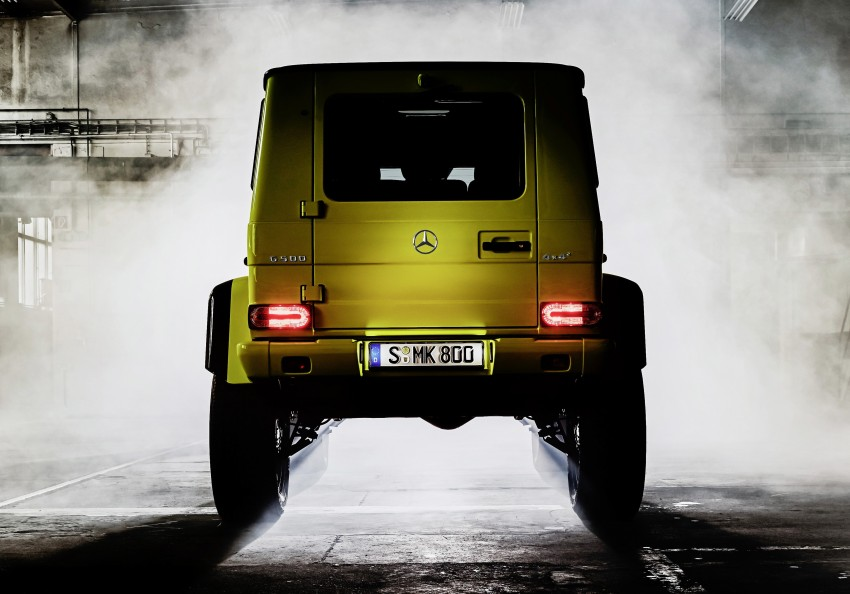 Mercedes-Benz G500 4×4² debuts – 'near-production' Image #312989