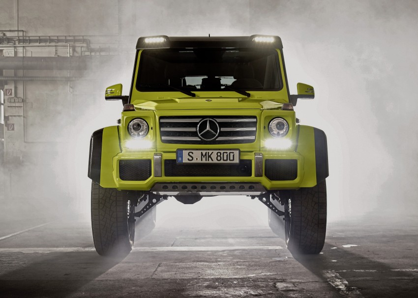 Mercedes-Benz G500 4×4² debuts – 'near-production' Image #312990