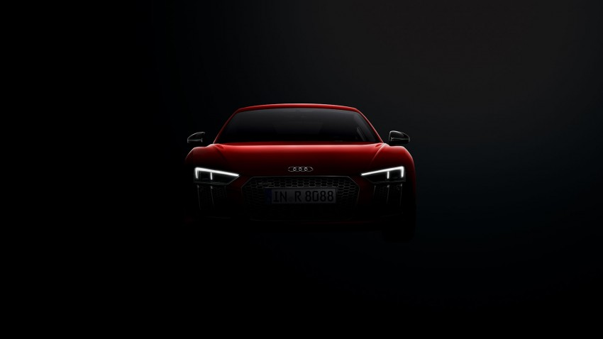 2016 Audi R8 revealed – V10 and S tronic only, 610 hp Image #314818