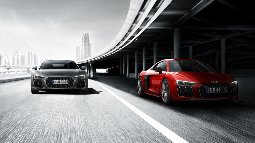 2016 Audi R8 revealed – V10 and S tronic only, 610 hp Image #314817