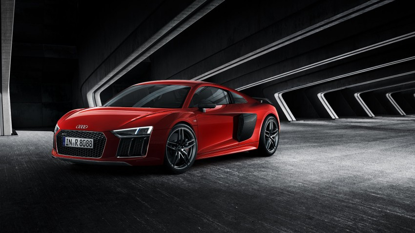 2016 Audi R8 revealed – V10 and S tronic only, 610 hp Image #314820
