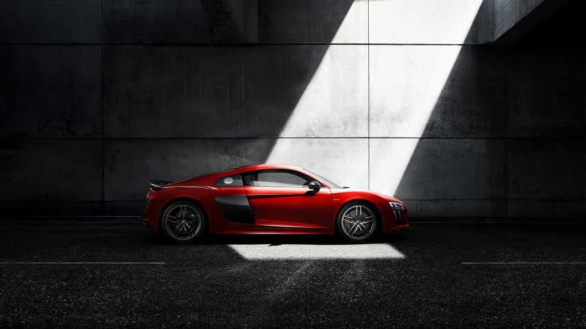 2016 Audi R8 revealed – V10 and S tronic only, 610 hp Image #314814