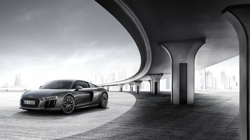 2016 Audi R8 revealed – V10 and S tronic only, 610 hp Image #314812