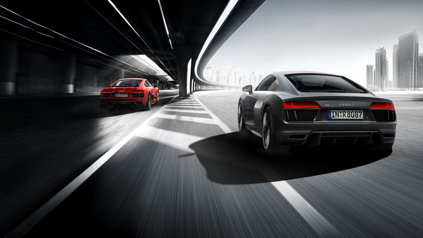 2016 Audi R8 revealed – V10 and S tronic only, 610 hp Image #314809