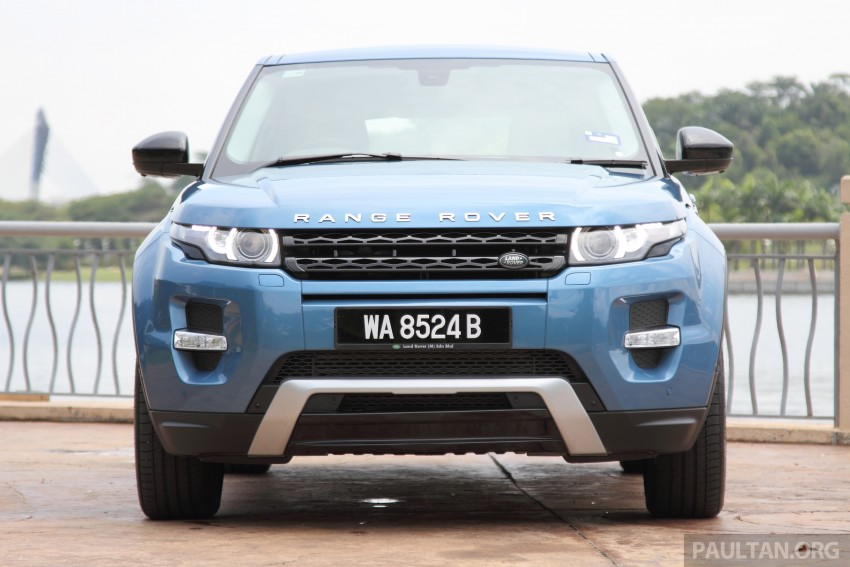 Range Rover Evoque facelift teased with new LEDs Image #311938