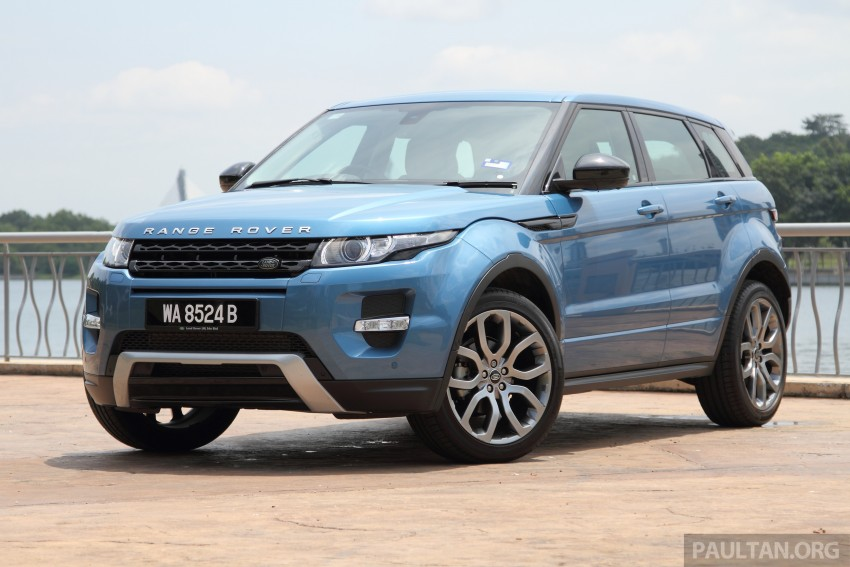 Range Rover Evoque facelift teased with new LEDs Image #311939