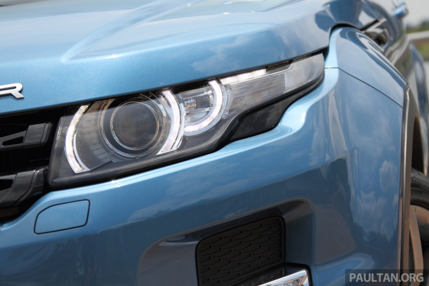 Range Rover Evoque facelift teased with new LEDs Image #311941