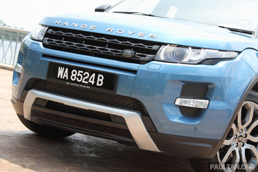 Range Rover Evoque facelift teased with new LEDs Image #311943