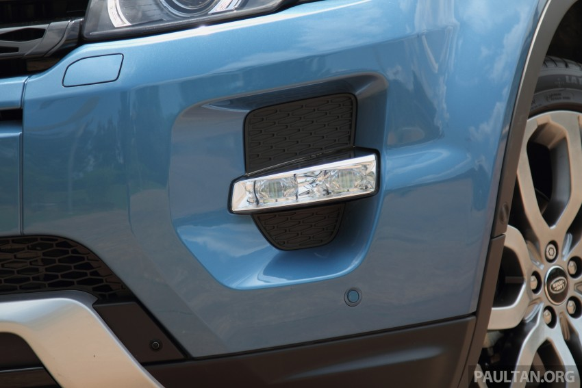 Range Rover Evoque facelift teased with new LEDs Image #311944