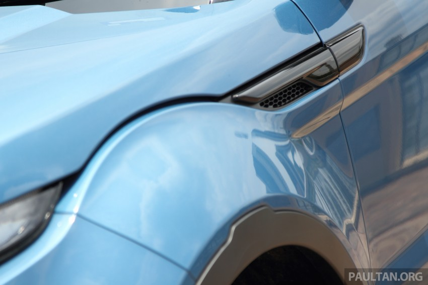 Range Rover Evoque facelift teased with new LEDs Image #311947