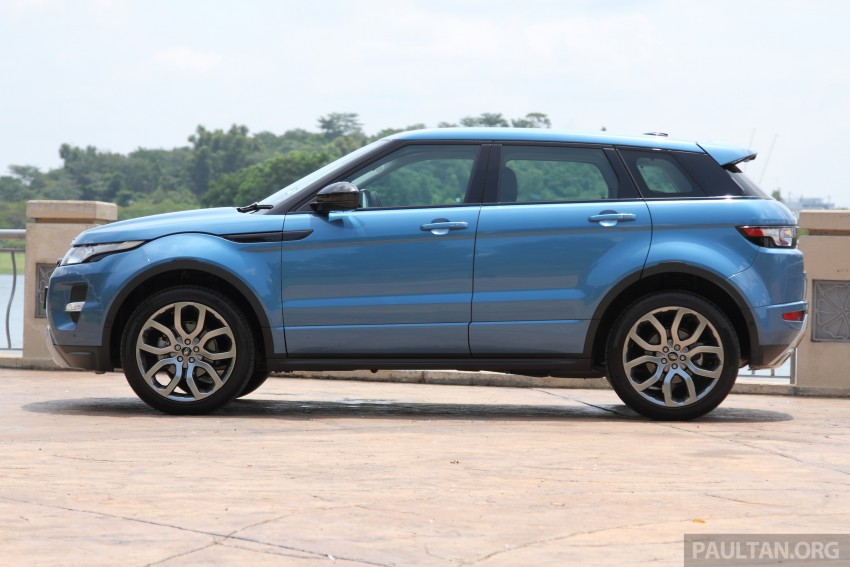 Range Rover Evoque facelift teased with new LEDs Image #311949
