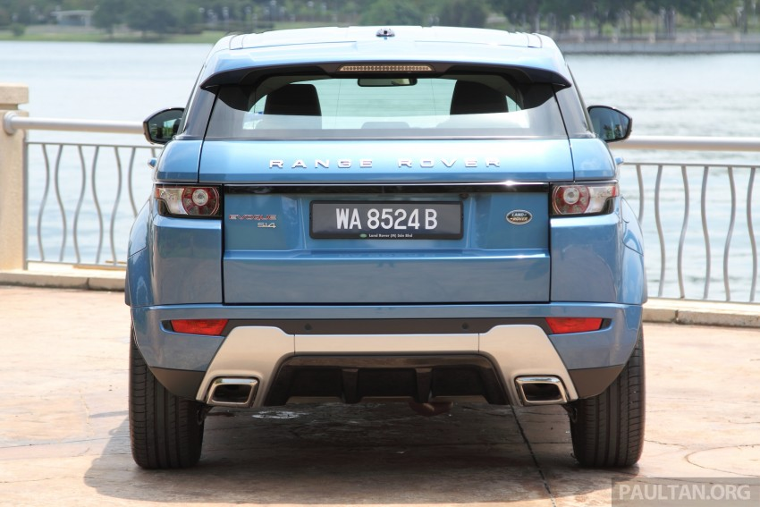 Range Rover Evoque facelift teased with new LEDs Image #311952