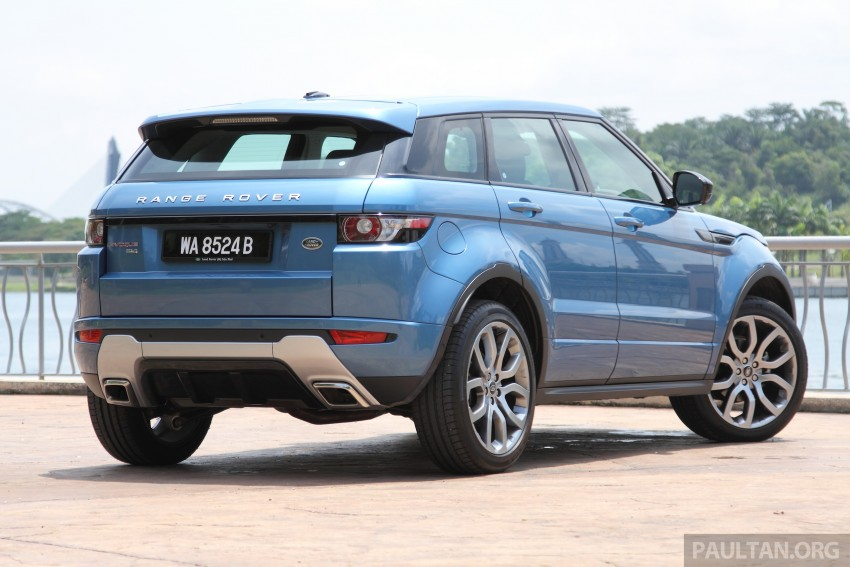 Range Rover Evoque facelift teased with new LEDs Image #311953