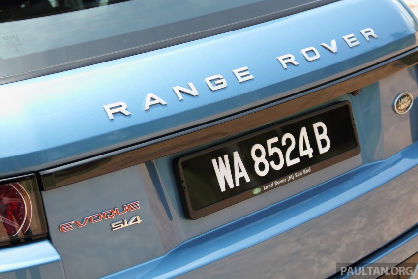 Range Rover Evoque facelift teased with new LEDs Image #311955