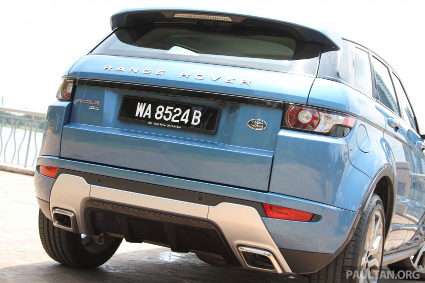 Range Rover Evoque facelift teased with new LEDs Image #311956