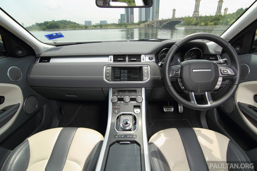 Range Rover Evoque facelift teased with new LEDs Image #311986