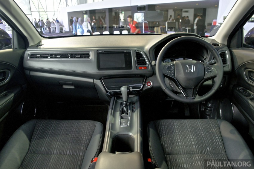 2015 Honda HR-V launched in Malaysia, from RM100k Image #309778