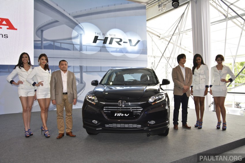 2015 Honda HR-V launched in Malaysia, from RM100k Image #309583