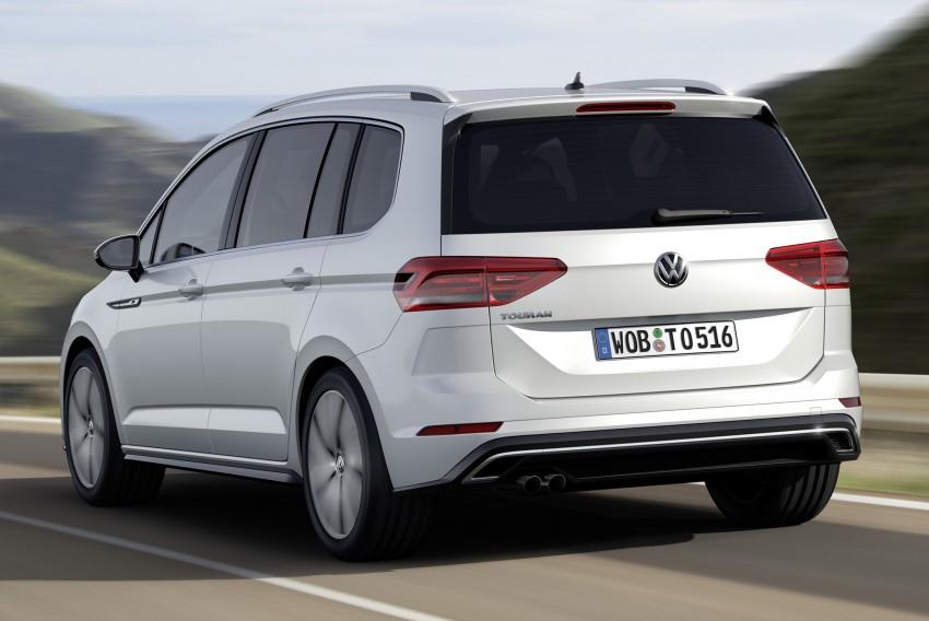 Volkswagen Touran – third-gen makes Geneva debut Image #313993