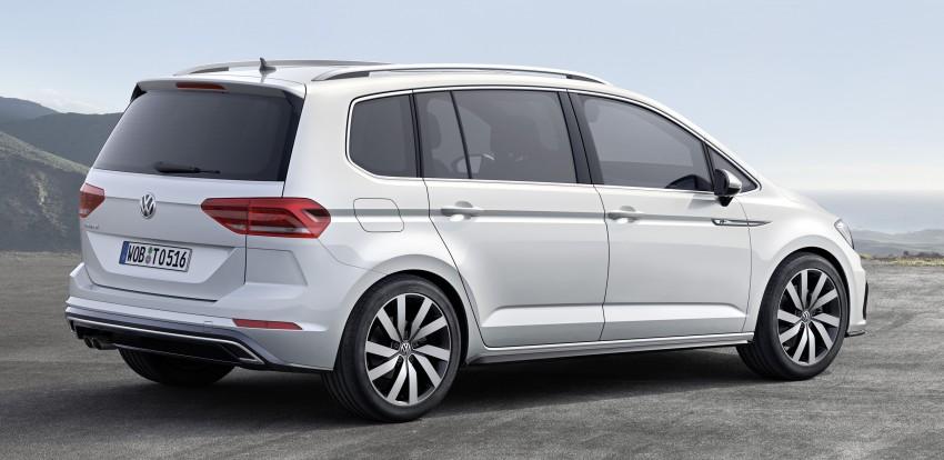 Volkswagen Touran – third-gen makes Geneva debut Image #313994