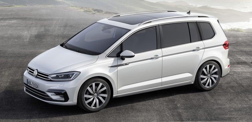 Volkswagen Touran – third-gen makes Geneva debut Image #313996