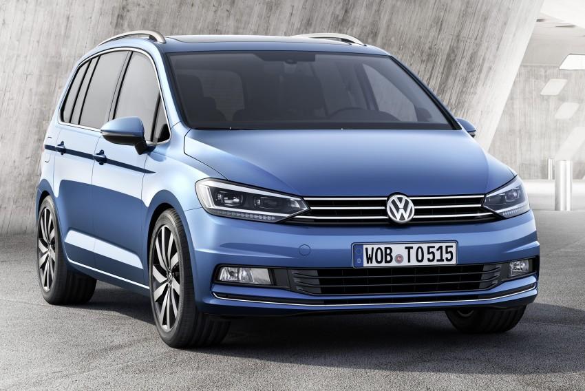 Volkswagen Touran – third-gen makes Geneva debut Image #313986