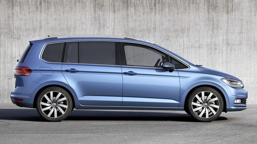 Volkswagen Touran – third-gen makes Geneva debut Image #313987
