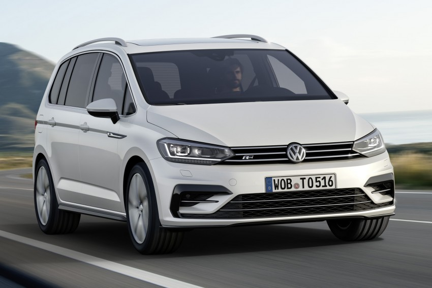 Volkswagen Touran – third-gen makes Geneva debut Image #313992