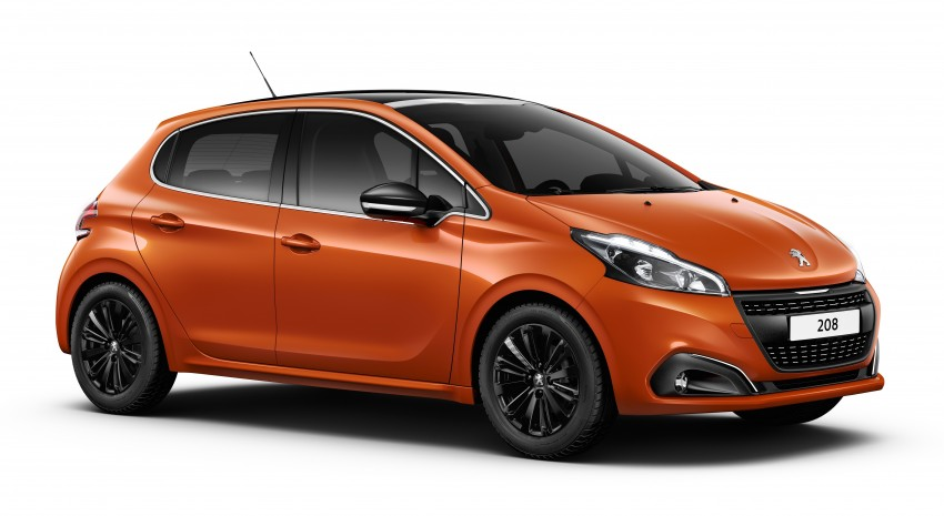 Peugeot 208 facelift unveiled – now with 6-speed auto Image #312858