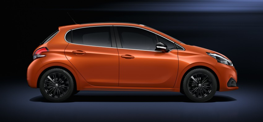 Peugeot 208 facelift unveiled – now with 6-speed auto Image #312859