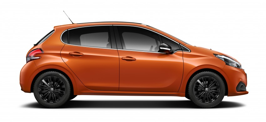 Peugeot 208 facelift unveiled – now with 6-speed auto Image #312860