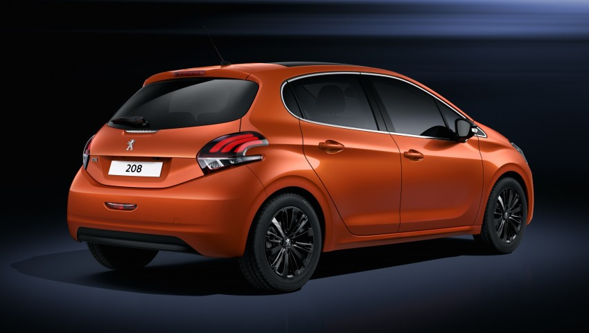 Peugeot 208 facelift unveiled – now with 6-speed auto Image #312861