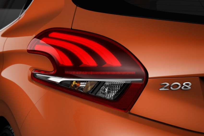 Peugeot 208 facelift unveiled – now with 6-speed auto Image #312863