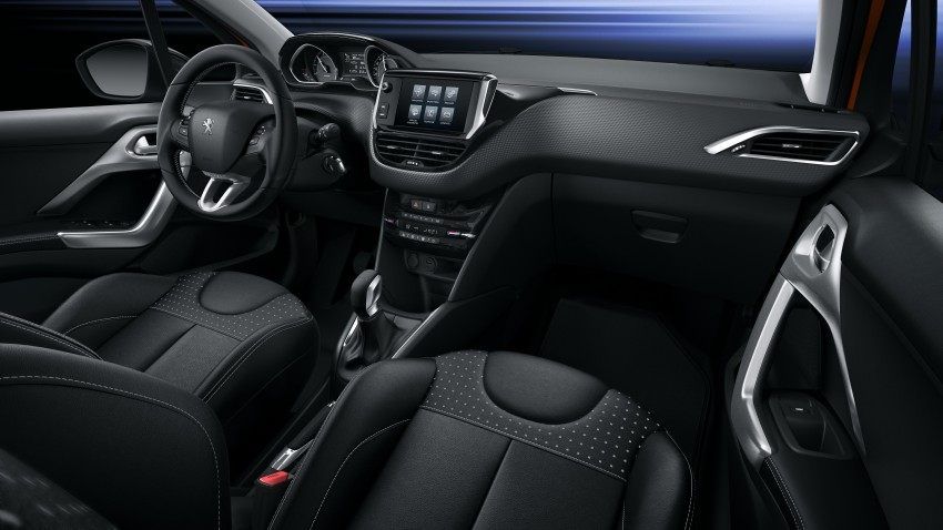 Peugeot 208 facelift unveiled – now with 6-speed auto Image #312864